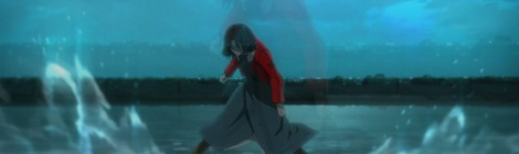 Kara no Kyoukai water scene