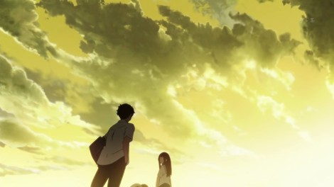 This probably sums up how I felt when watching Hyouka. What that means is free to be interpreted however you please