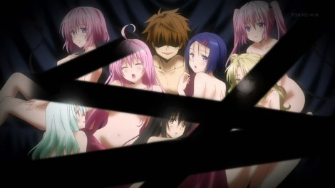 "Speaking of To Love-Ru (Darkness), Momo's ""Harm Plan"" is like the best thing ever. Also, SO MUCH DARKNESS. 'dem censors."