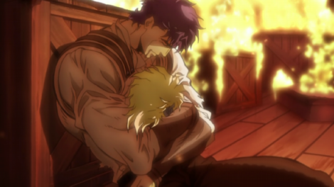 I mean, this was epic. So much respect for Jonathan Joestar.