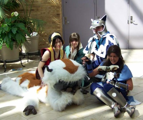 Once you think about it, cosplay is a bit of a strange thing. Avatar cosplay group taken from ~Korbexo (deviantart).