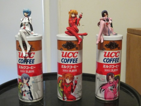 "Speaking of ""junk"" subculture, here's those Eva Coffee figures I mentioned I'd grabbed a while back. Totally worth it."