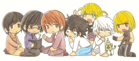 Now to close out the post: CHIBI DEATH NOTE! I know it totally ruins the mood of the post, but I couldn't resist.
