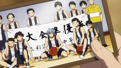 I'm talking about Kuroko no Basket, of course.