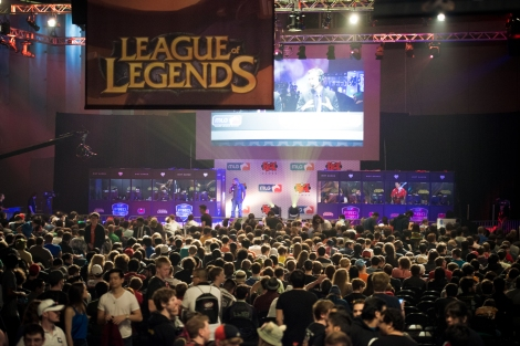The large League of Legends fandom/geekdom, for instance, could be seen to defy such a view.