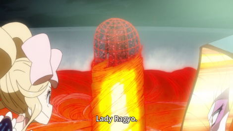 Ok - now the show's just dropping a huge-ass phallic symbol and making sure we know it.
