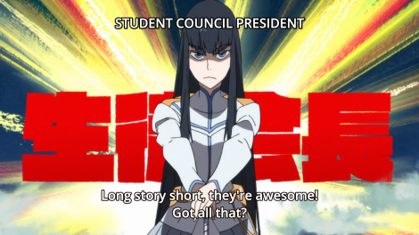 "Led by ""Empress"" Satsuki?"