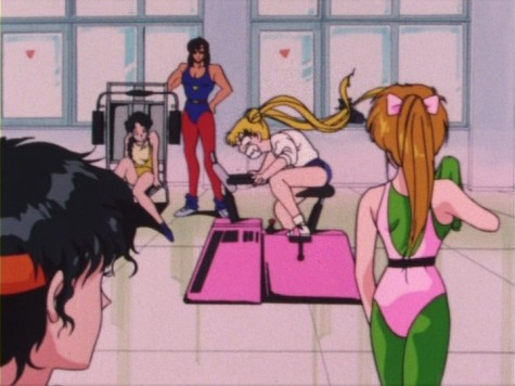 usagi_going_all_out_on_an_exercise_bike